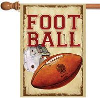 Toland - Vintage Football - Sport Ball Game House Flag
