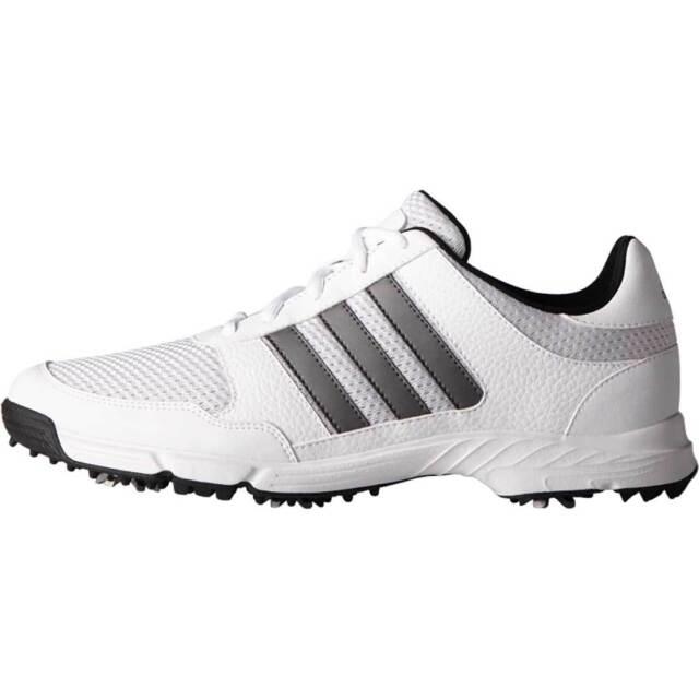 Adidas Men S Tech Response Wd Ftwwht D Golf Shoe 7 2e Us White For Sale Online Ebay