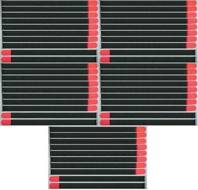 Selbstlos 50x Kabelklettband Fk 80cm X 50mm Neon Rot Klettband Klett Kabel Binder Band Öse Den Speichel Auffrischen Und Bereichern