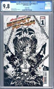 Spirits of Vengeance: Spirit Rider #1 Echo Okazaki Sketch 2nd Print CGC 9.8