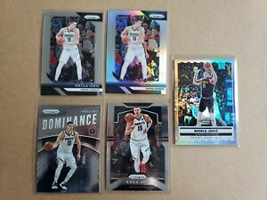 2019-20 Panini Prizm Nikola Jokic (5) Base Lot Silver Denver Nuggets