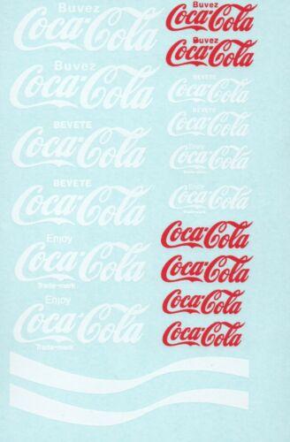 369 Decalbogen Coca Cola 1:18
