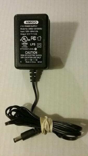 100% Kwaliteit Amigo I.t.e. Power Supply Ams6-1201000su 120v 60hz .5a 12v 1a Free Shipping Bin