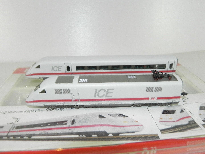 Fleischmann 7452-ICE 2 motori testa e fiscali Carro DB AG con OVP