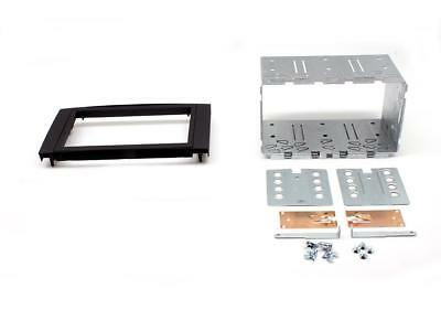 Ford Fiesta Mk6 05 on Double Din Stereo Facia Fitting Kit Anthracite CT23FD03