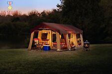 10 Person C&ing Tent Northwest Territory Front Porch Cabin 20u0027 X 10u0027 ORIGINAL & Northwest Territory KMT152010 Front Porch Cabin Tent - 10 Person ...