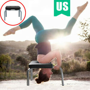 yoga headstand chair inversion bench props home gym