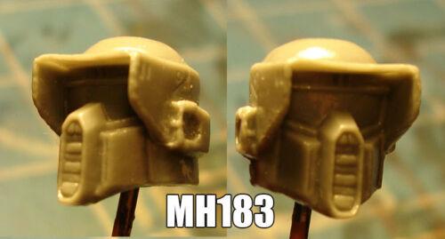 "MH183 Custom Cast head use w//3.75/"" Star Wars GI Joe Acid Rain action figures"