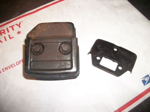 """POULAN 3700,3400 /""""MUFFLER/&BOLTS/"""" USED CONDITION"""