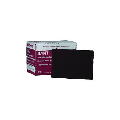 1 Box 3M Scotch-Brite Hand Pad 7447 20 Pads Per Box Maroon Color
