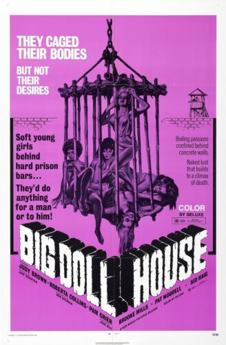 BIG DOLL HOUSE Movie Poster XXX Exploitation Sex Grindhouse