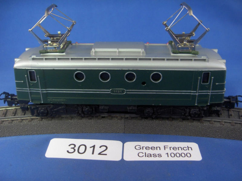 EE 3012 Marklin French Class 10000 Grün Electric Locomotive