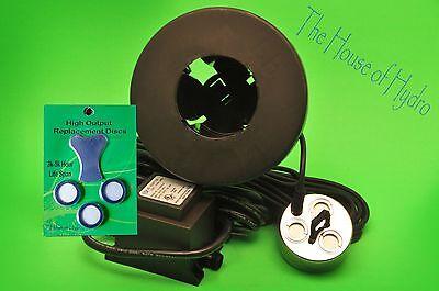 3 head Ultrasonic Mist Maker Fog machine Pond Water fogger humidifier fountain | eBay