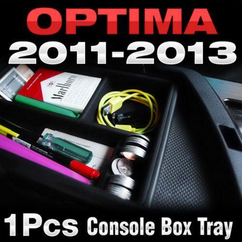 Armrest Console Console Box Tray Storage Holder For Hyundai 2011-2013 Optima K5