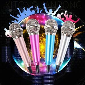 Studio-Mini-3-5mm-Stereo-Microphone-For-Mobile-Phone-PC-Laptop-Singing-Karaoke