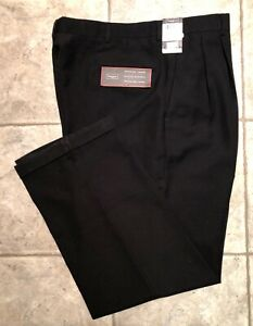 HAGGAR-Mens-Black-Casual-Pants-Size-38-x-31-NEW-WITH-TAGS