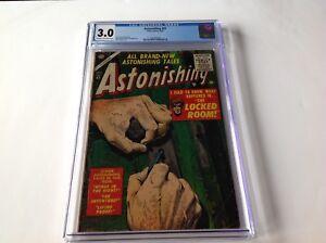 ASTONISHING-41-CGC-3-0-CODE-HORROR-THE-LOCKED-ROOM-RUSS-HEATH-COVER-ATLAS-COMICS
