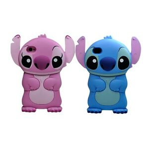 Coque etui housse silicone stitch ipod touch iphone 3gs 4 for Housse ipod touch 5