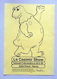 publicite-salle-Poirel-Nancy-le-Casimir-Show-Enfance-de-l-039-art-2001
