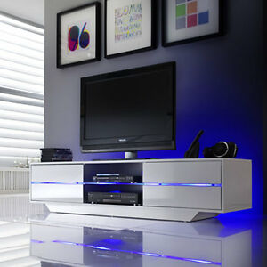 Image Is Loading Sienna Tv Stand Unit In High Gloss With