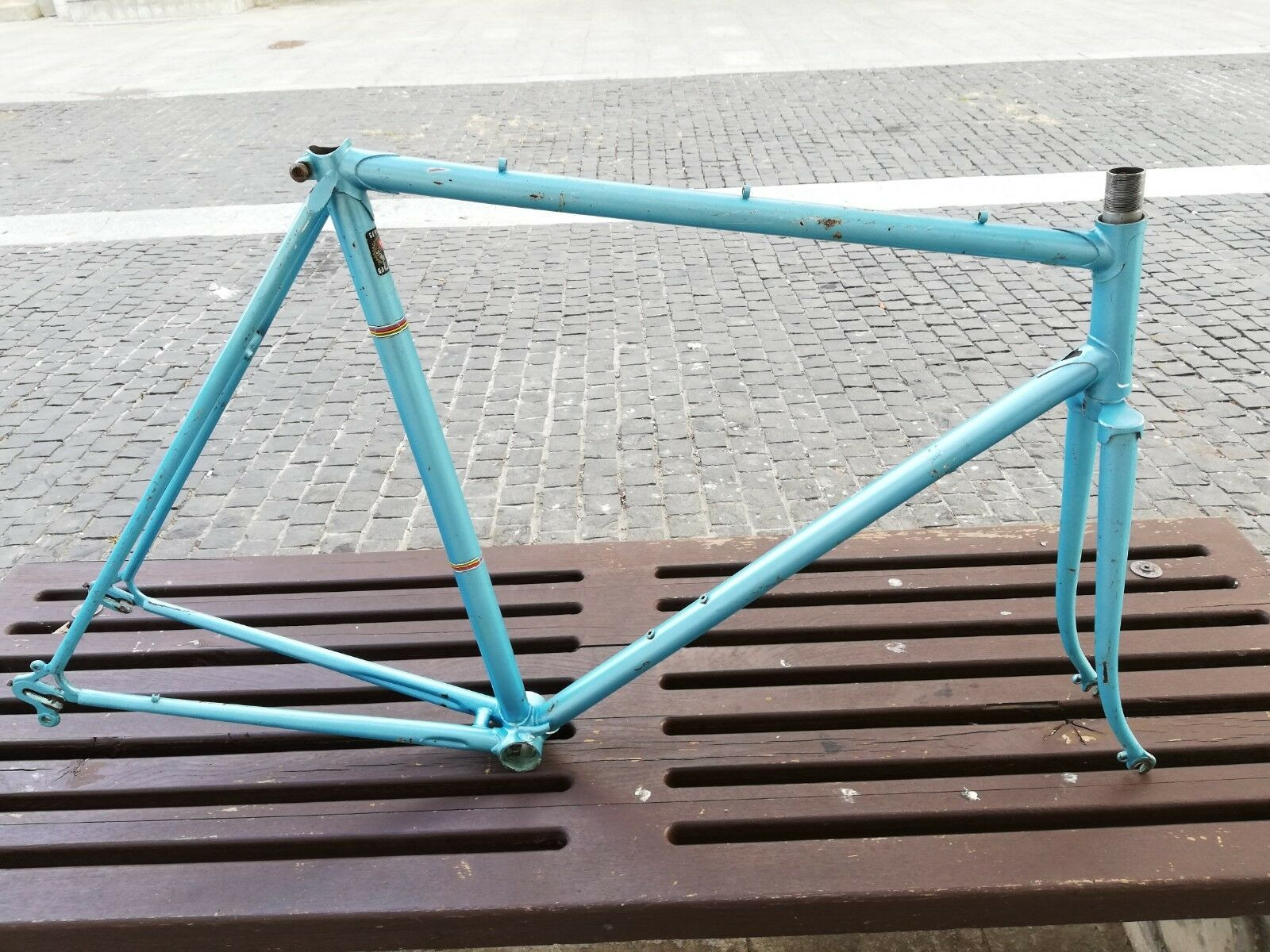 Vintage Steel road bike Frame 57cm  700c