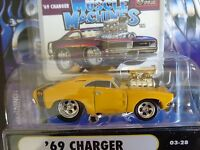 1969 Dodge Charger R/t Muscle Machines 1/64 In Used Package