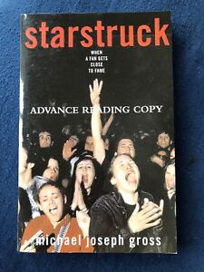 Details about Michael Joseph Gross~STARSTRUCK~Advance Reading Copy -  Softcover