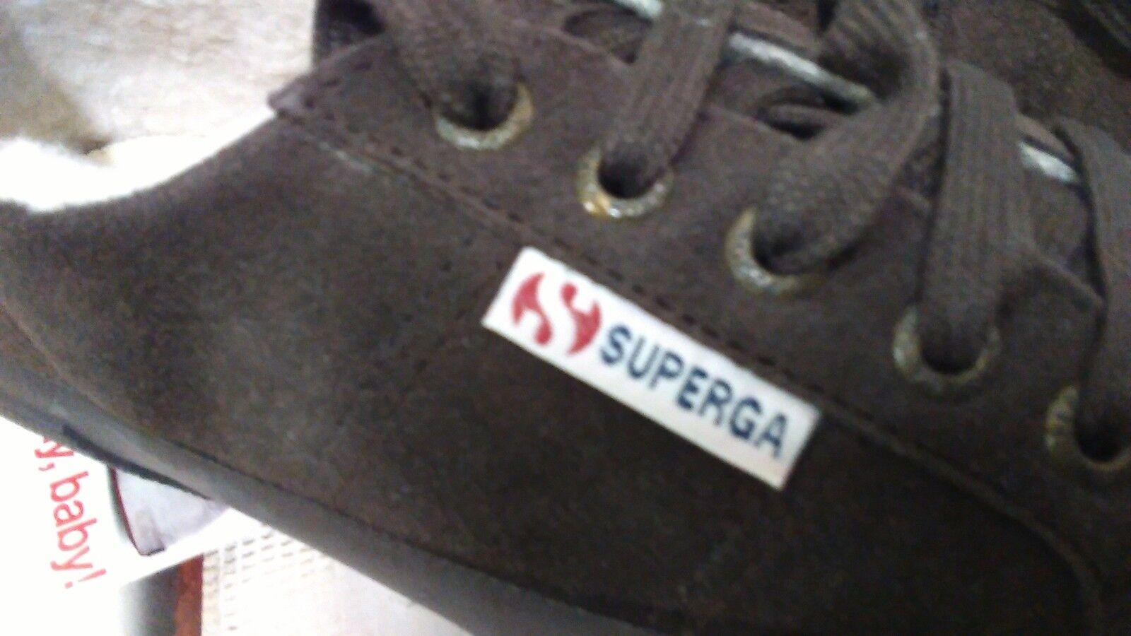 SUPERGA Pelo Scarpe Invernali Donna Num. 35 MARRONE Pelo SUPERGA Interno Mod. 2750 (294) d4d361