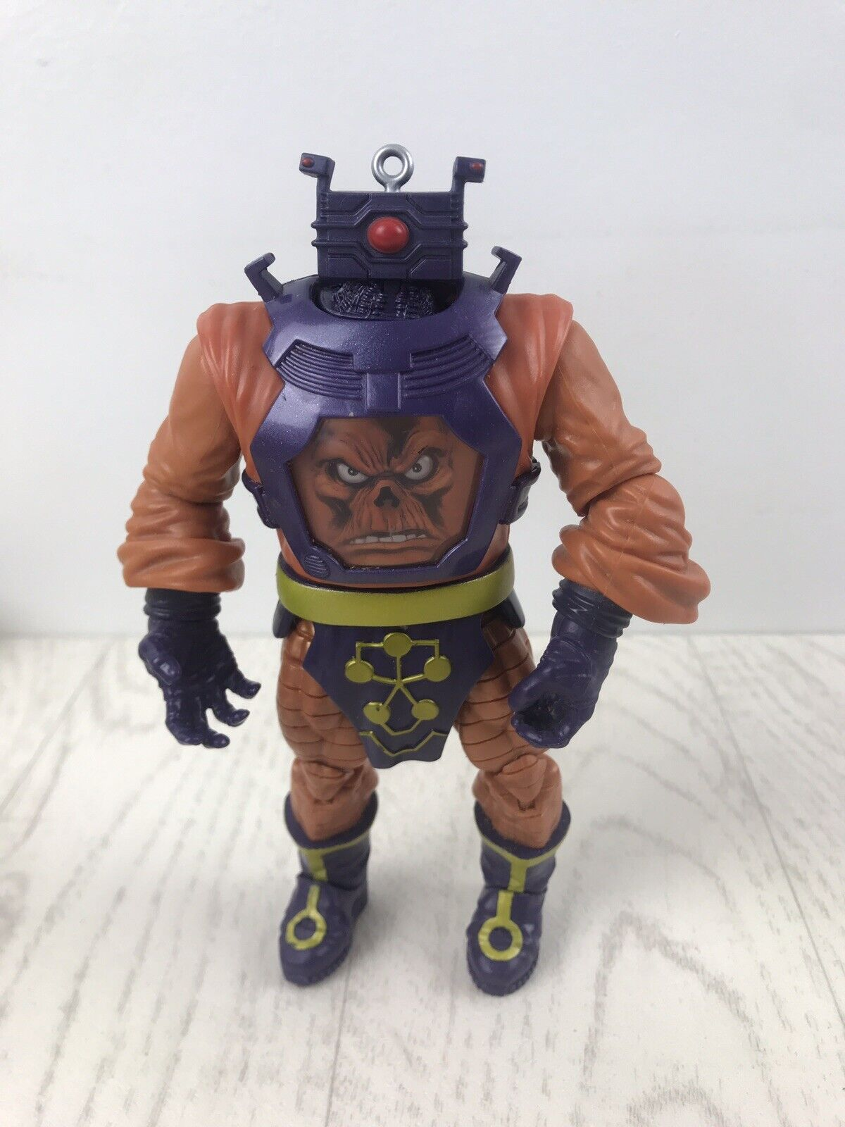 Marvel Legends BAF Arnim Zola rot Skull Variant Completed 2012 Hasbro