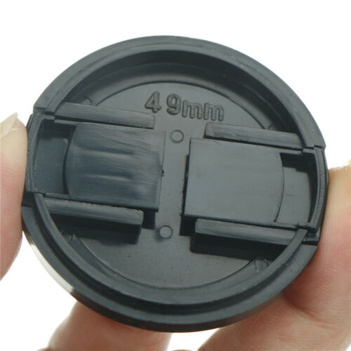 49mm Plastic Snap On Front Lens Cap Cover For SLR DSLR Camera DV Leica Sony CN