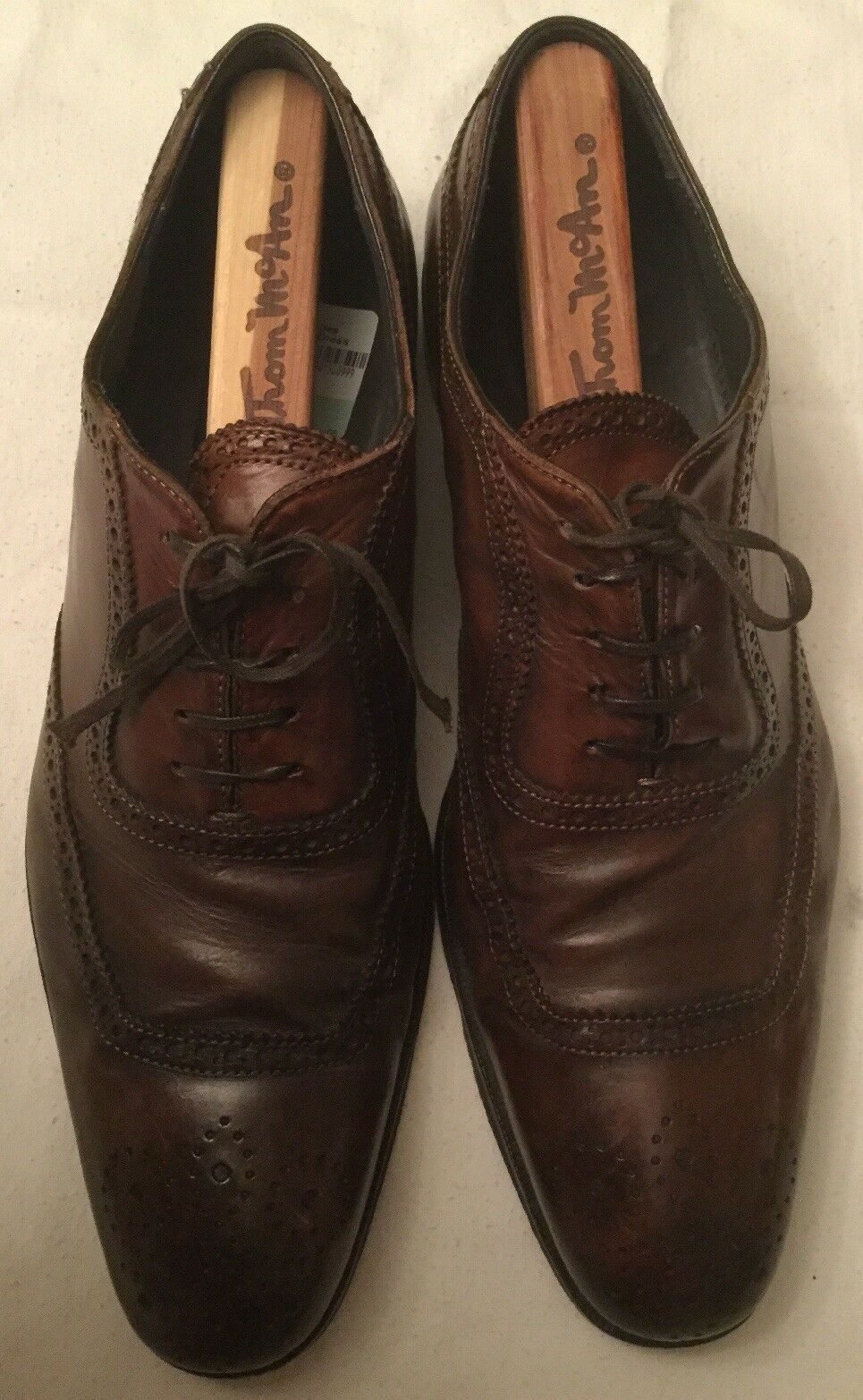 To Stiefel New York Brogue Wingtip Oxford Dress Dress Dress schuhe 9 76871e