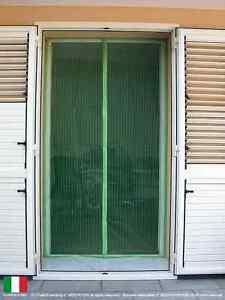 Dettagli Su Tenda Zanzariera Magnetica Con Calamita 140 X 240 Cm Verde Universale Sottocosto