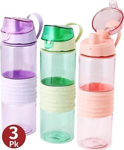 25 Oz 3 Pack Plastic Drink Bottle
