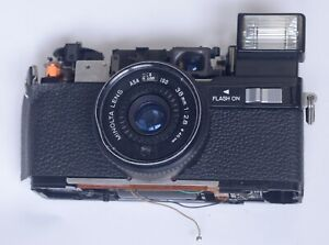 Minolta-Hi-Matic-S2-Body-Lens-Assembly-Vintage-Rangefinder-Film-Camera-Parts