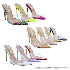 Laurent-3-Liliana-Clear-Band-Perspex-Open-Pointy-Toe-Heel-Sandals-Mules-Pumps