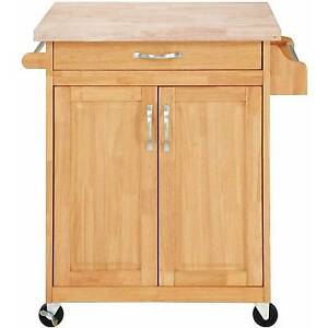Butcher Block Rolling Kitchen Island : Kitchen Island Cart Butcher Block Rolling Cupboard Cabinet Table Storage Buffet eBay