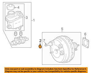 s l300 toyota oem 07 16 tundra brake master cylinder o ring seal 472750c010
