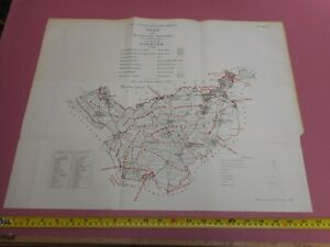 100-ORIGINAL-CHESHIRE-MAP-BY-OWEN-JONES-C1884-VGC-BOUNDARY-COMMISSION