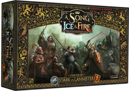 A Song of Ice & Fire Starter Set Stark vs Lannister NUOVO ITA Asmodee CMON GOT