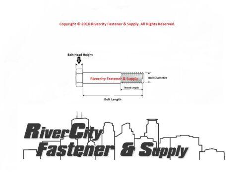 5 M12-1.5x60mm Hex Head Cap Screws Bolts Metric Fine Thread 12mm x 60mm