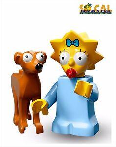 LEGO 71009 MINIFIGURES The Simpsons series 2 #10 Hans Moleman with unused code