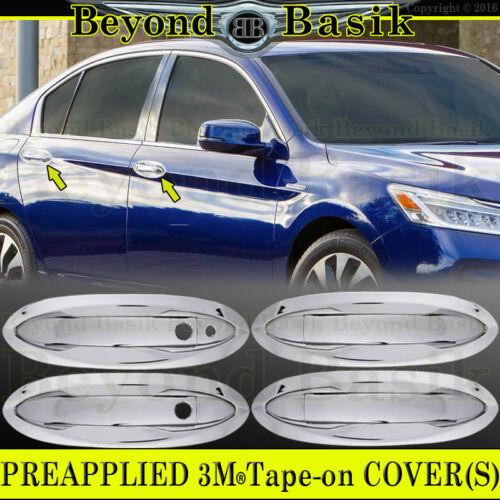 2013 2014 2015 2016 2017 Honda Accord 4Dr Chrome Door Handle /& Bowl Covers W//SmK