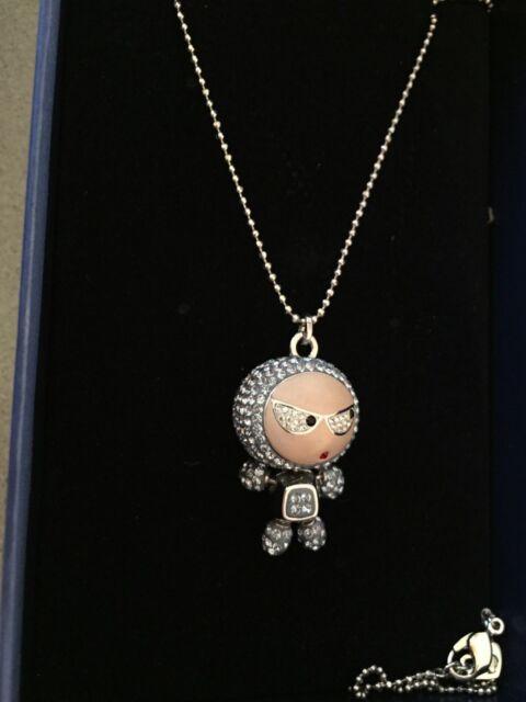 72e50f5e9 Swarovski 1084490 Eliot Blue Crystal Pendant Chain Necklace for sale ...