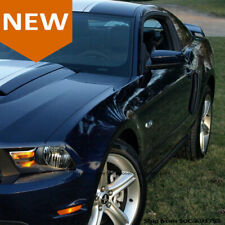 10 13 Ford Mustang Pair Air Vent Side Fender Scoop Color Match Painted Ua Black Fits Mustang