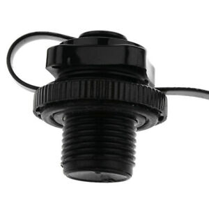 Valve-Air-Caps-Screw-For-Inflatable-Boat-Fishing-Boats-Raft-Airbed-Outdoor-Black