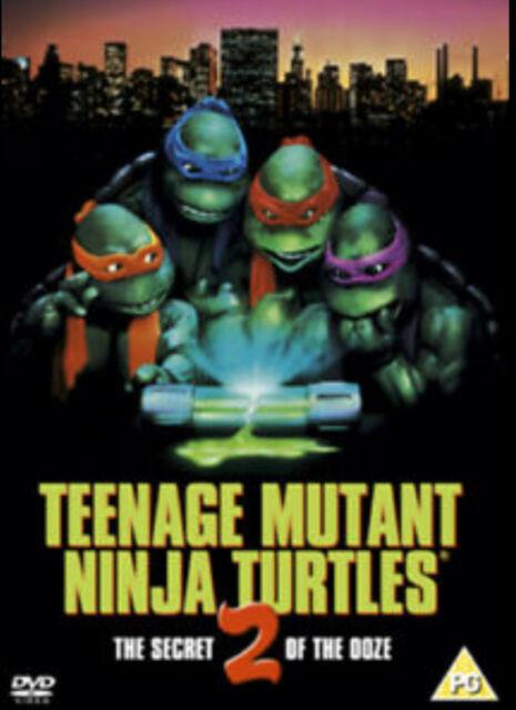 Teenage Mutant Ninja Turtles 2 - The Secret of the Ooze DVD (2004) F & F POSTAGE