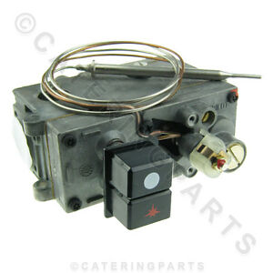 EUROSIT GAS FRYER OPERATING THERMOSTAT CONTROL VALVE COMPLETE 110 190 DEGREE
