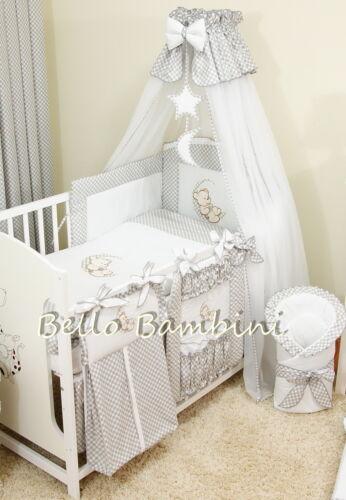 LUXE canopy Draper /& titulaire 320 x 175cm pour lit bébé lit bébé //
