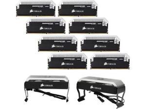 CORSAIR Dominator Platinum 128GB (8 x 16GB) 288-Pin DDR4 SDRAM DDR4 2666 (PC4 21