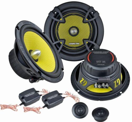 Ground Zero altavoces gztc 165 300w componentes para audi a6 c5//4b 1997-2004